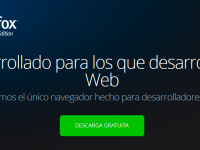 Firefox para desarrolladores web