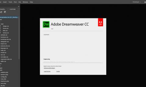 Dreamweaver CC 2018 XML Parsing Fatal Error Developer.xml, Standard.xml como resolver