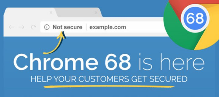 El 24 de julio, Google lanzó oficialmente Chrome 68