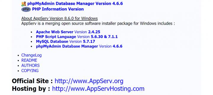 AppServ: Como cambiar versión de PHP