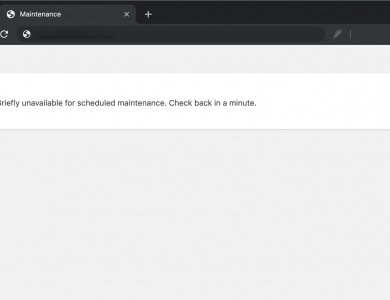 No disponible temporalmente por mantenimiento programado. Vuelve a comprobarlo en unos minutos [WordPress]